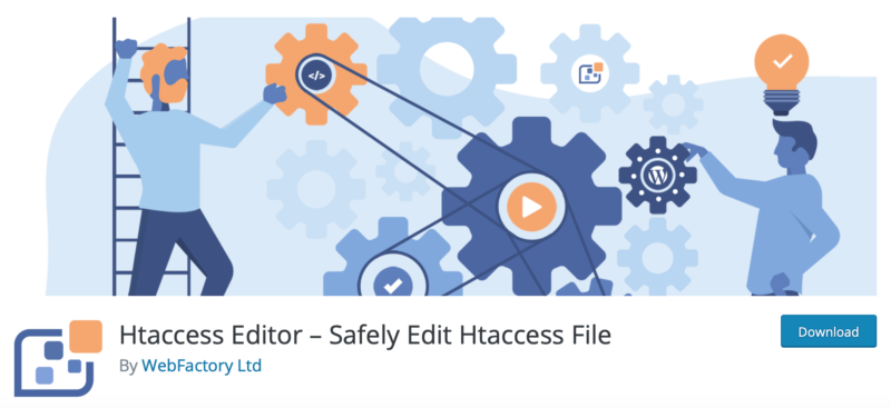 The WP Htaccess Editor plugin.