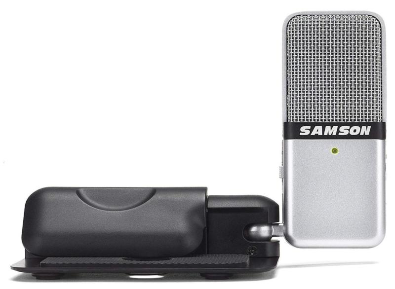 The Samsung Go microphone.