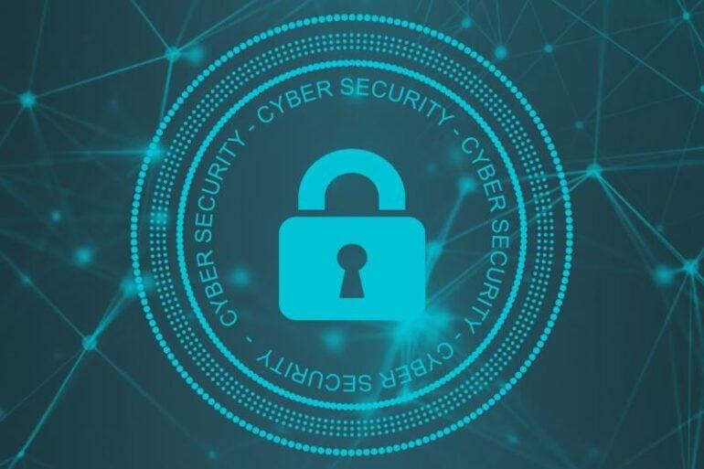 A padlock security symbol.