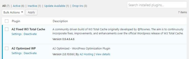 An example of a caching plugin.