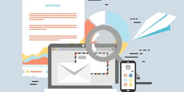 Various email marketing tools.