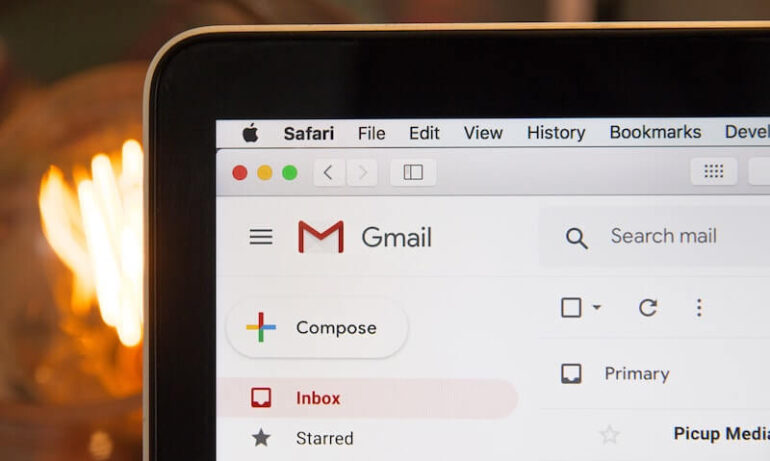 A Gmail account.