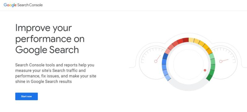The Google Search Console.