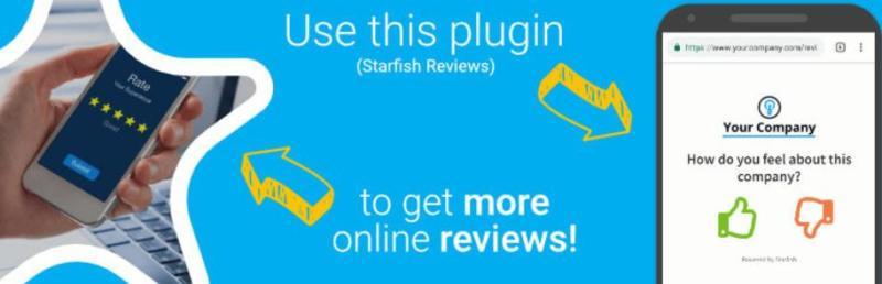 The Starfish Reviews plugin.