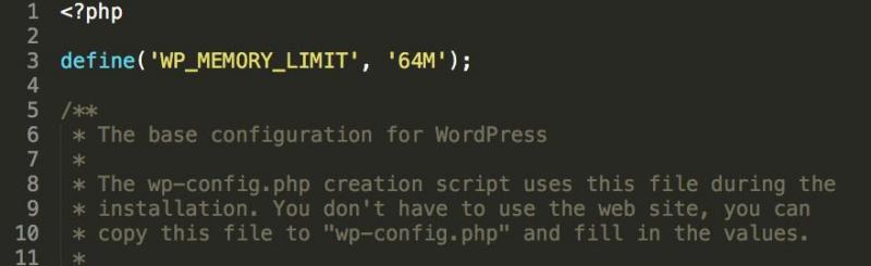 Increasing the WordPress PHP memory limit.