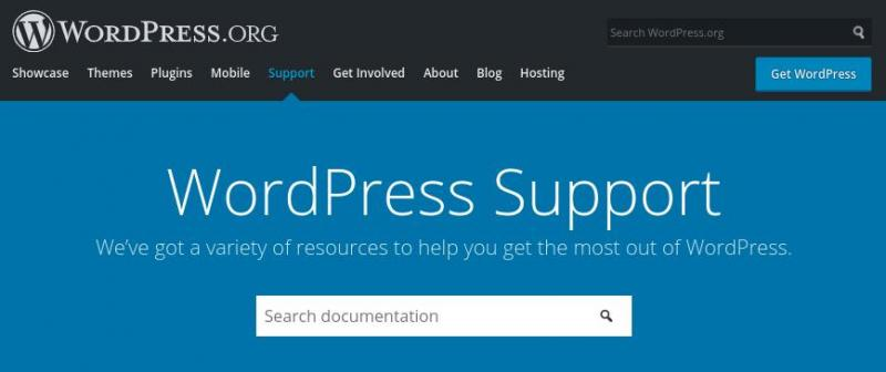 The WordPress support documentation.