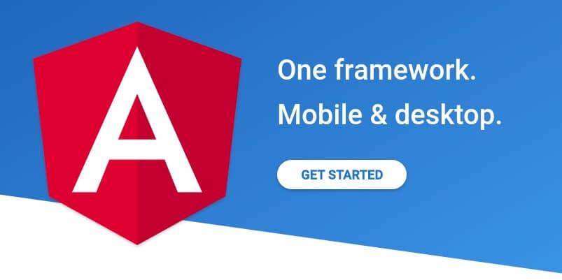 The Angular framework.