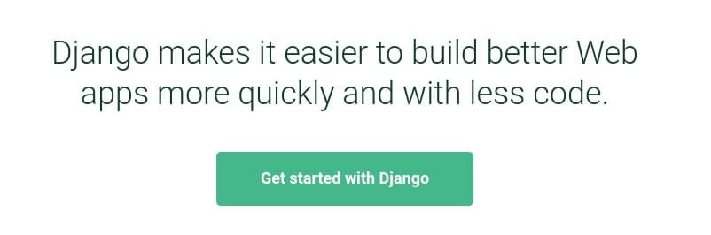 The Django framework.