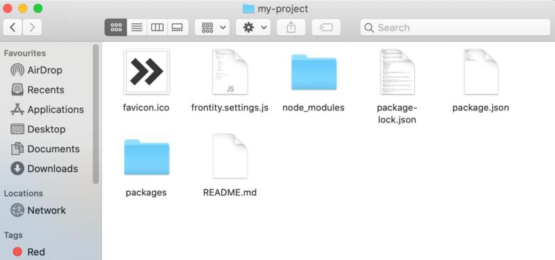 Frontity projects.