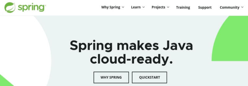 The Spring framework.