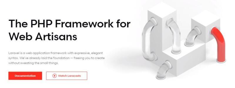The Laravel framework.