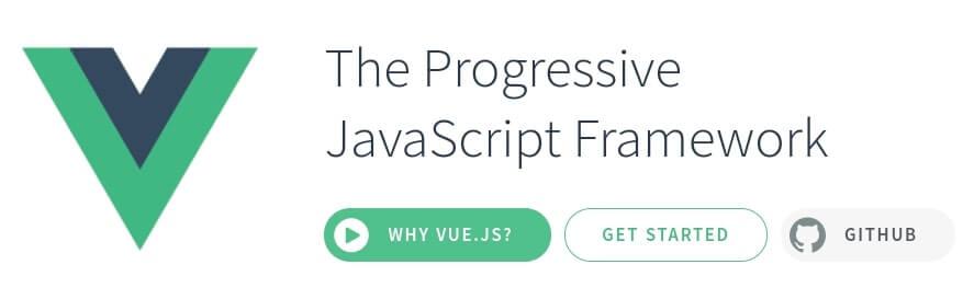 The Vue.js framework.