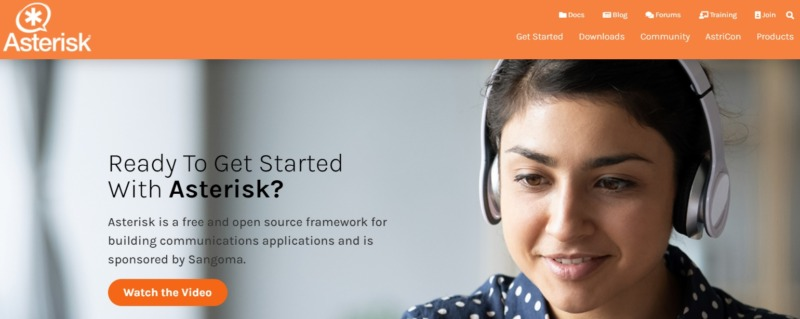 Asterisk, a framework for building communication systems.