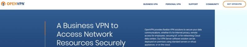 OpenVPN Virtual Private Network.