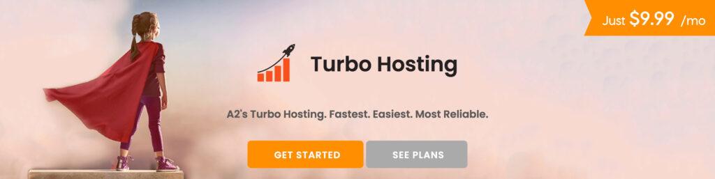 a2 Hosting Turbo servers.