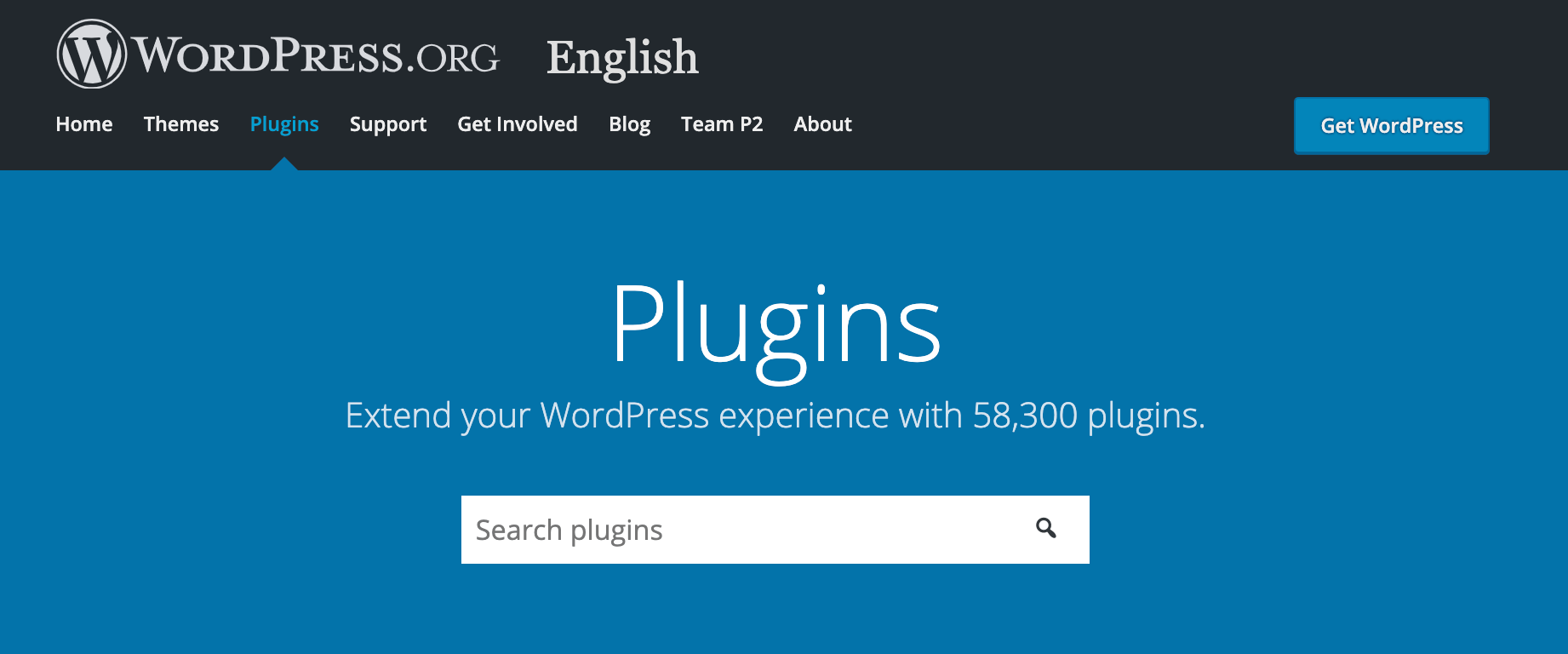 The official WordPress repository.