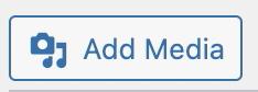 WP Add Media icon