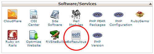 cPanel - Softaculous icon
