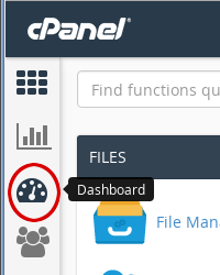 cPanel - Paper Lantern - Dashboard icon