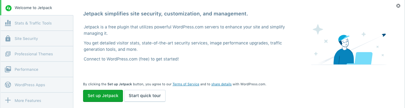 How to install Jetpack on your managed WordPress site