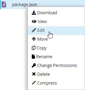 Develop Node js Application In cPanel With Node js Selector