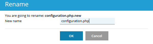 Rename configuration.php.new to configuration.php