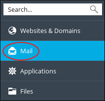 Plesk - Mail icon