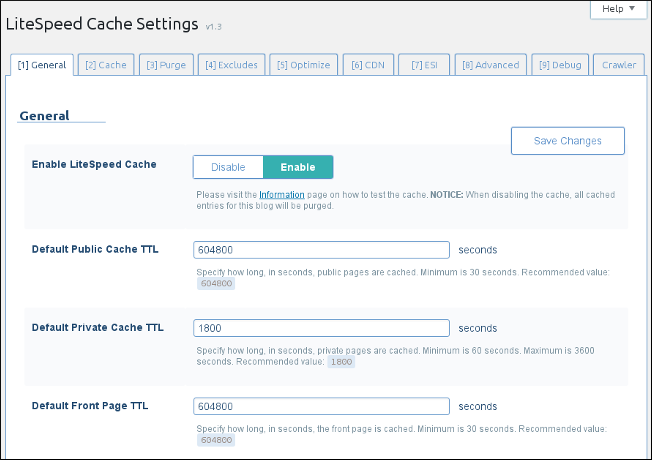 LiteSpeed Cache for WordPress | Install and Configure