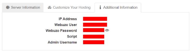 Ordering a2 hosting package Unmanaged Dedicated Server hosting